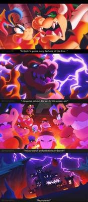 Bowser Sings Be Prepared from The Lion King