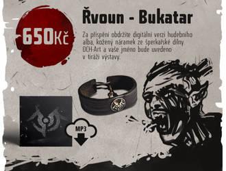 One Tribe crowdfunding reward Bukatar by Snaga-uruki