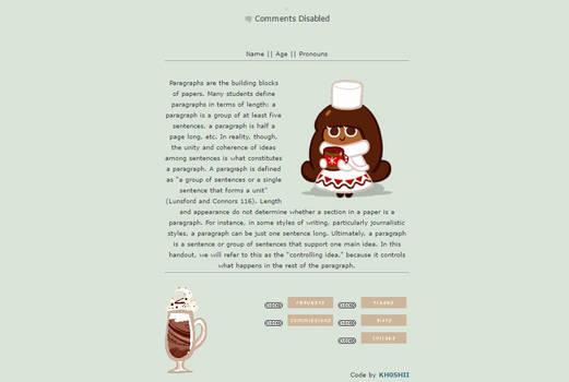 Cocoa Cookie [Non-Core Box Code Request] by KH0SHII