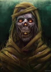 Mummy by Kronteisdrawing