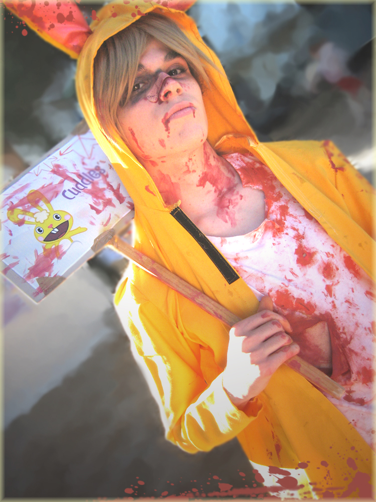 Cuddles Cosplay - Happy Tree Friends by DakunCosplay on ...