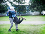 Shion And Nezumi Cosplay - Back Into Your Arms
