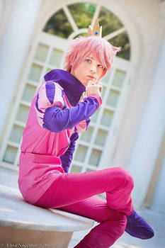 Prince Gumball Cosplay - Adventure Time