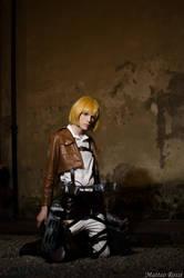 Armin Arlert Cosplay - Shingeki no Kyojin by DakunCosplay