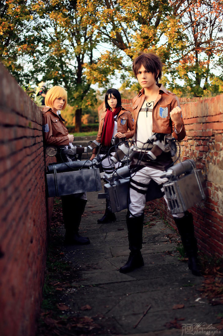 Last Hope - Shingeki no Kyojin Cosplay by DakunCosplay