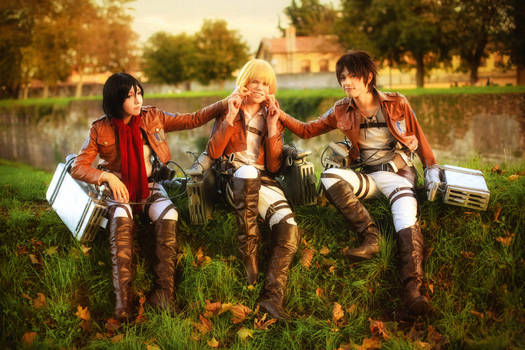 Happy Moments - Snk Cosplay