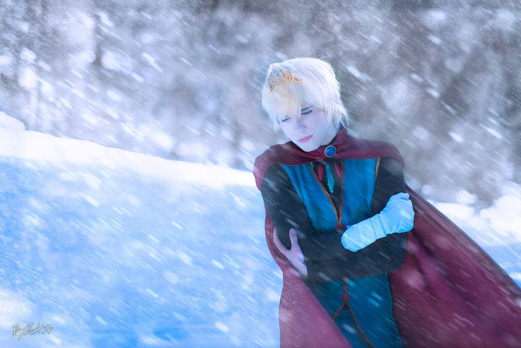 Elsa Cosplay (Male Version - Elias) - Conceal by DakunCosplay