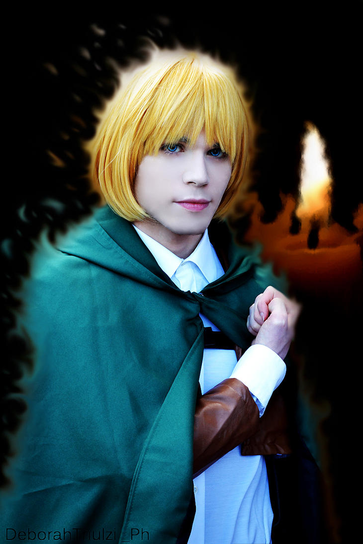 Armin Arlert Cosplay - Burn by DakunCosplay