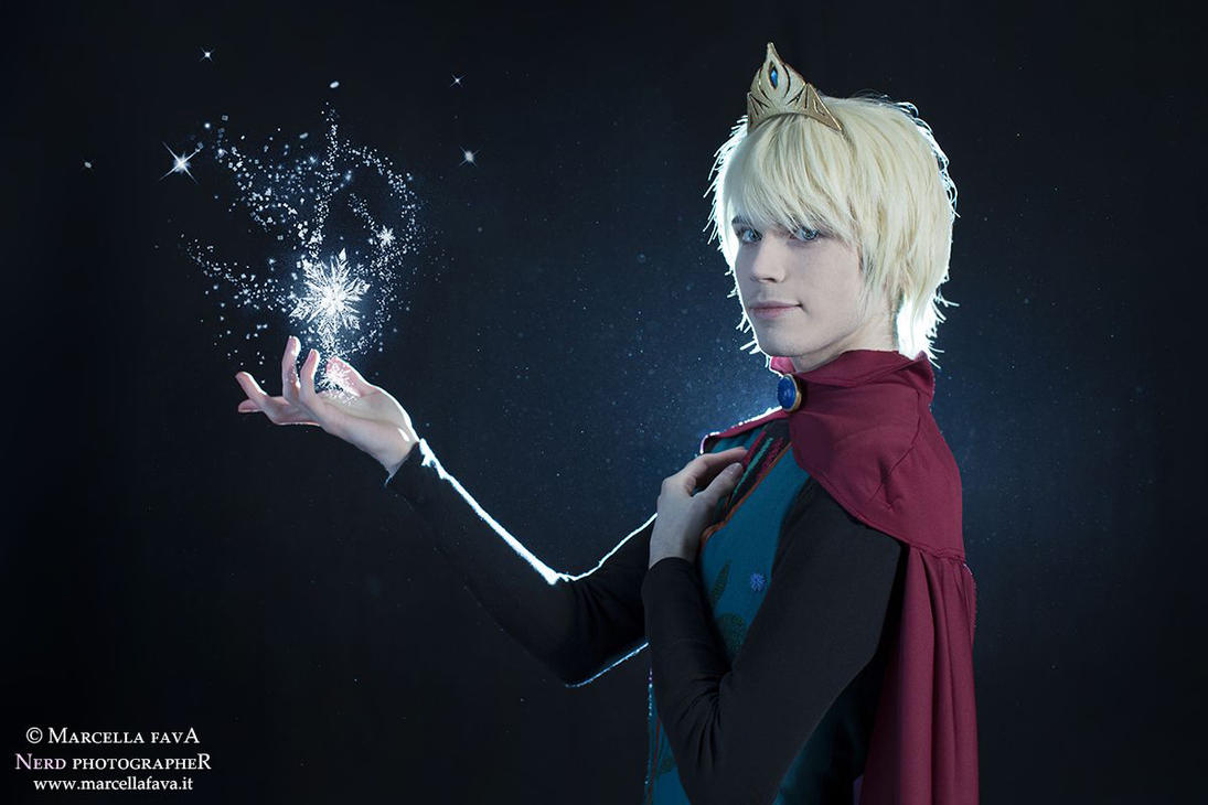 Elsa Cosplay (Male Version - Elias) - Magic by DakunCosplay