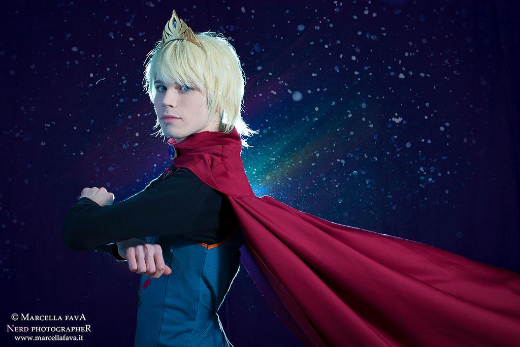 Elsa Cosplay (Male Version - Elias) - I'm The King by DakunCosplay