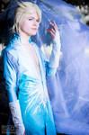 King Elsa Cosplay (Male Version - Elias) - Frozen