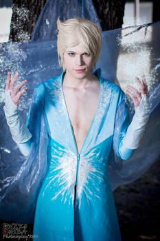 King Elsa Cosplay (Male Version - Elias) - Power