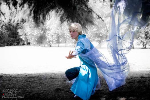 King Elsa Cosplay (Male Version - Elias) - Swirl