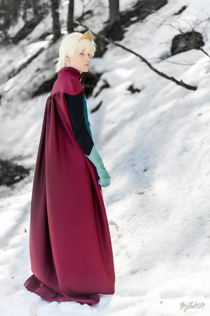 Elsa Cosplay (Male Version - Elias) - Alone by DakunCosplay