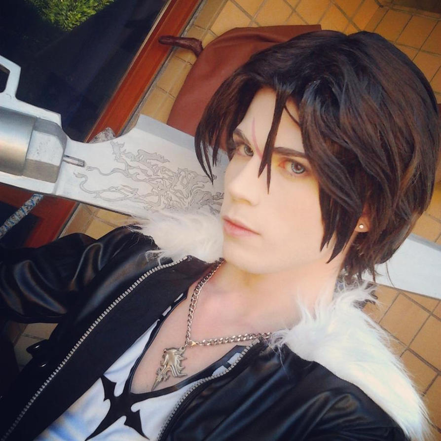 Squall Leonhart Cosplay - Final Fantasy VIII by DakunCosplay