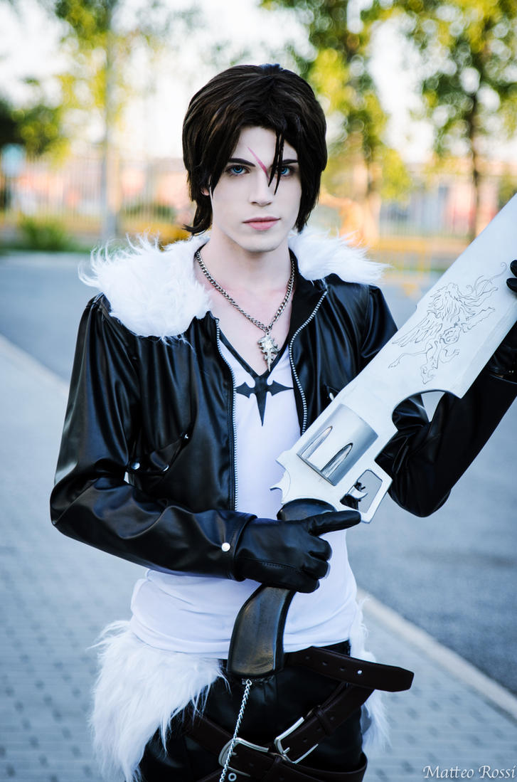 Squall Leonhart Cosplay (Dissidia Version)- FFVIII by DakunCosplay