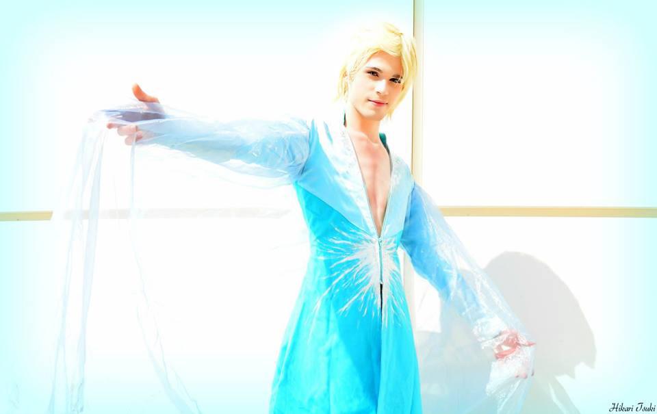 King Elsa Cosplay (Male Version - Elias)- Fearless by DakunCosplay