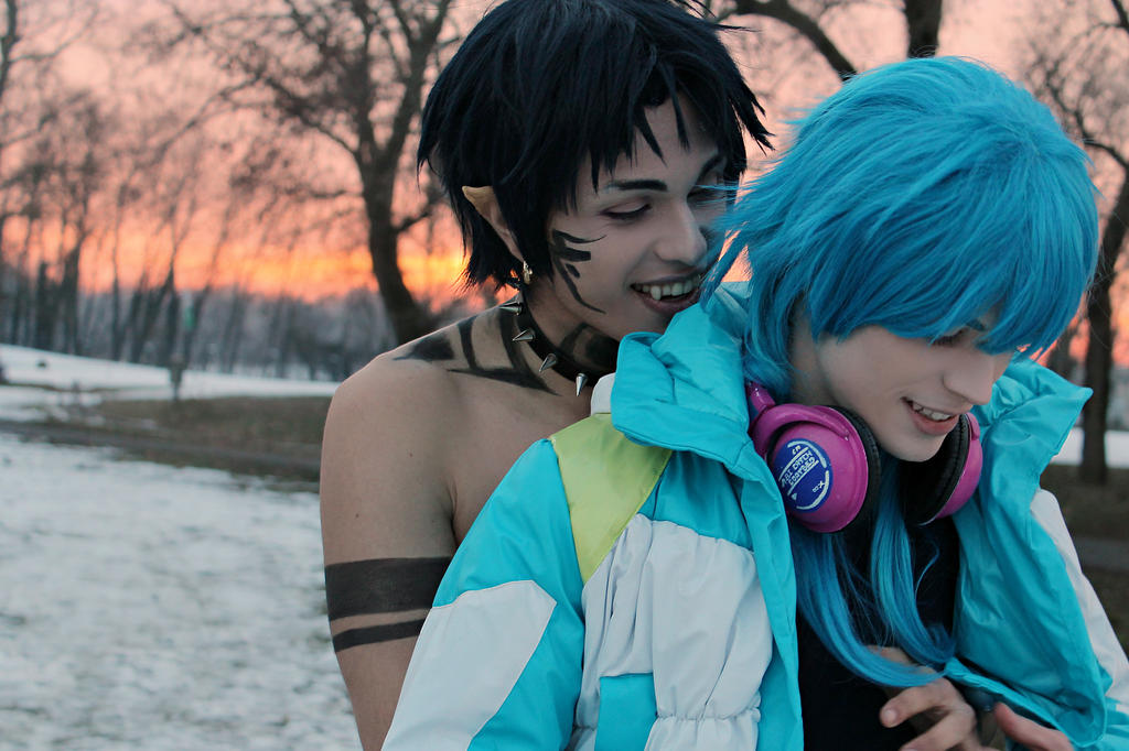 Aoba And Ren Cosplay - Irreplaceable - DMMD by DakunCosplay