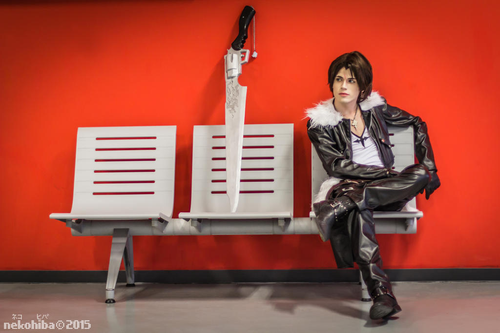 Squall Leonhart Cosplay - Waiting by DakunCosplay