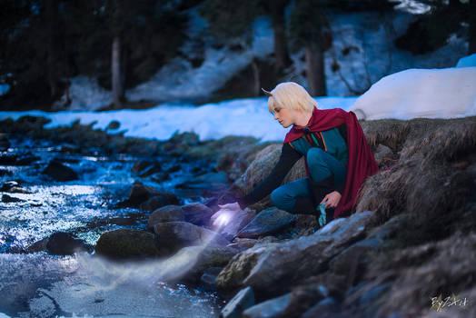 Elsa Cosplay (Male Version - Elias) - My Power...