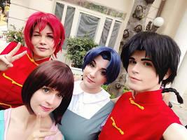 Ranma Cosplay Group by DakunCosplay