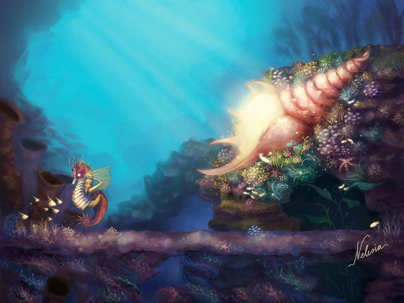 Underwater Magic by nelesia