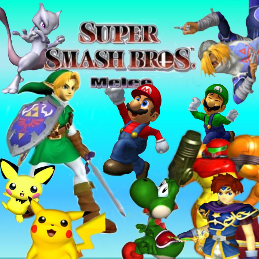 Smash Bros Melee Wallpaper By Keirii Of Celts On Deviantart