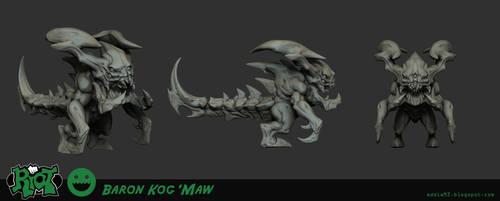 Baron KogMaw Sculpt by EddieMunoz