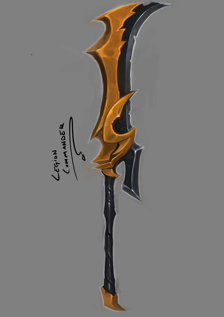Legion Commander Weapon