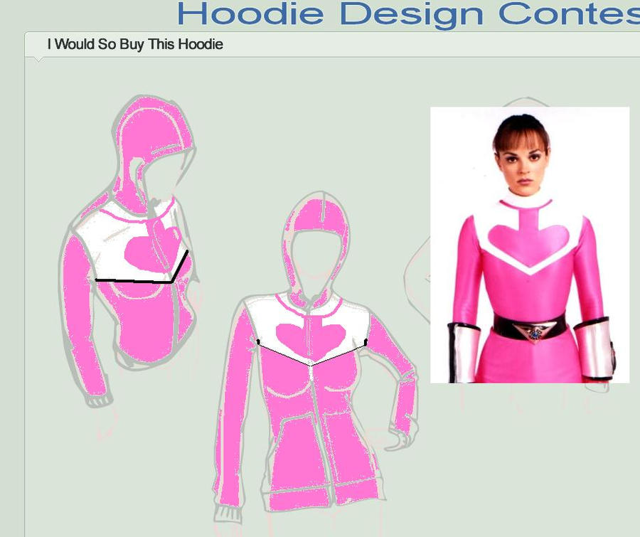 PR: Time Force Hoodie design by Pau--chan