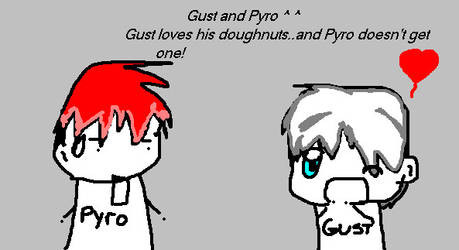 -Pyro and Gust- by Pau--chan