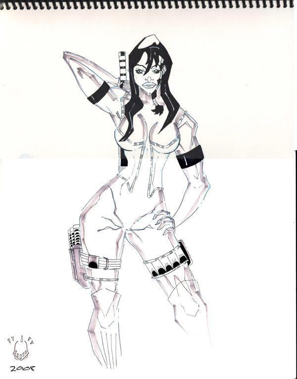 Bounty Hunter Kai by rknightonjr