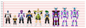 Character line up by MarcBruil