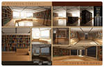 Home Library - Brochure - Back by utype