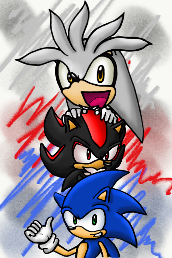 Silver Shadow Sonic Favourites By Bioshockgirl On DeviantArt