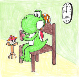 Yoshi's Bedtime Page 4 by InvisibleCreatures