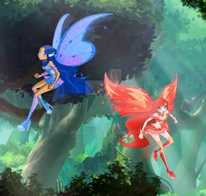 Fairies // Danger in the Woods