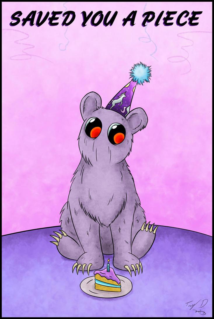 Birthday Bartleby by sbkMulletMan