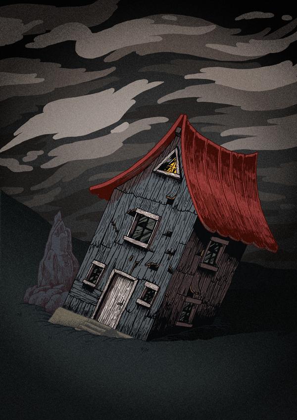 Broken House by d-X2