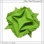Star Twist Ornament by mnemosynestar