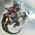 Warhammer 40k: Ork Stormboyz