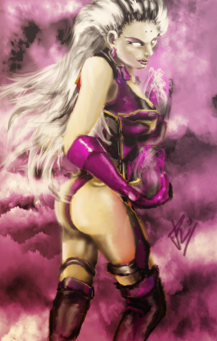 Sindel (Mortal Kombat) by RoysRoys