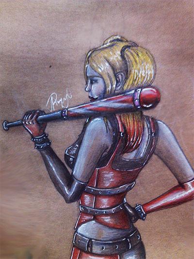 Harley Quinn by RoysRoys