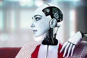 robot doll by D4N13l3