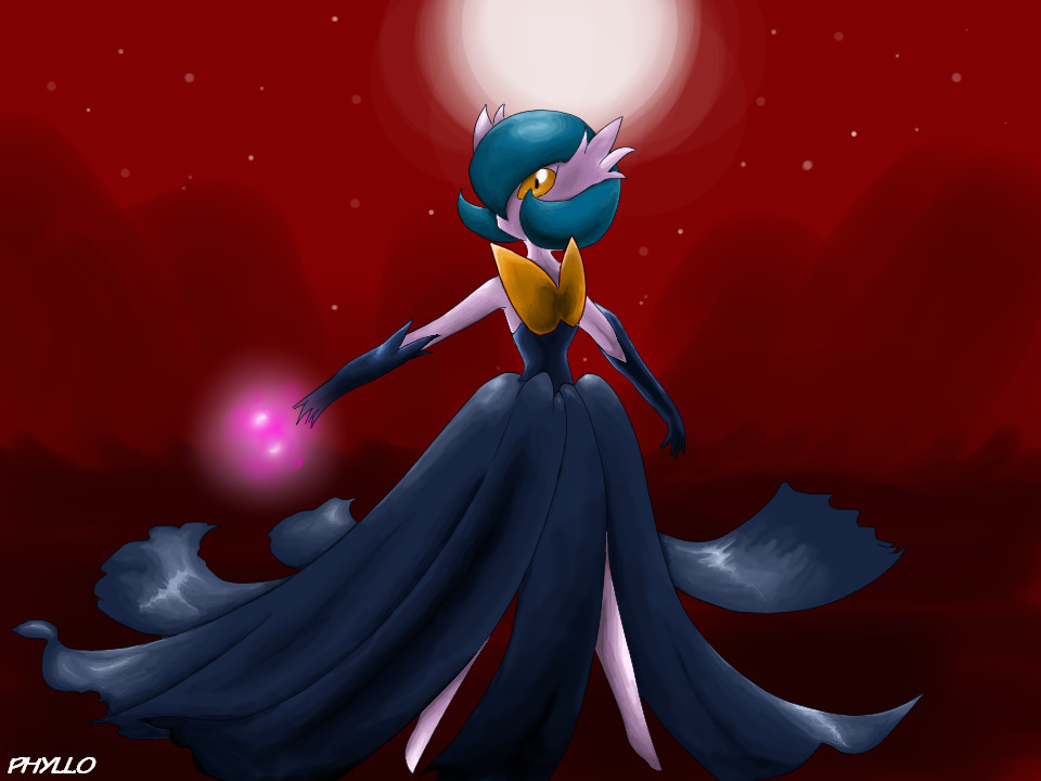 Shiny Mega Gardevoir Wallpaper: Shiny Mega Gardevoir By Phyllocactus On DeviantArt