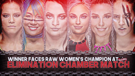 WWE Elimination Chamber 2020 Match Graphics- Elimi