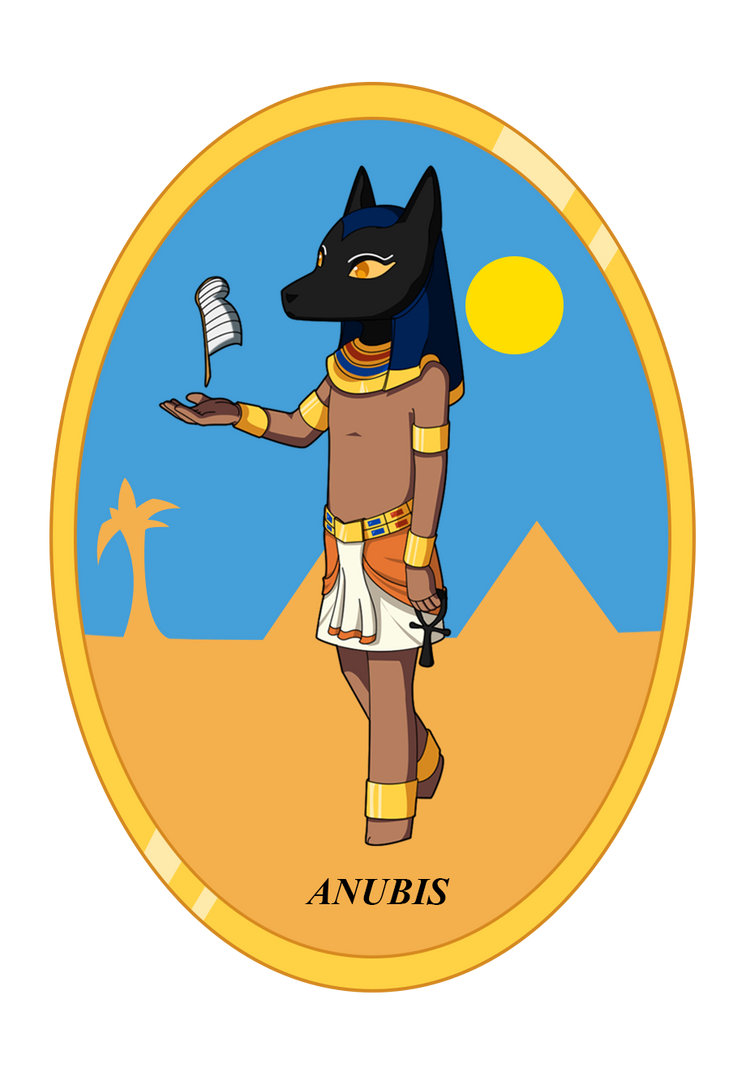 Anubis - Egypt by crissygim
