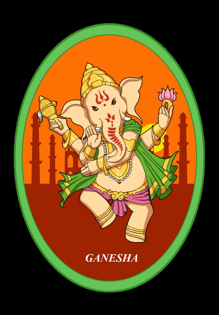 Ganesha - Hindu by crissygim
