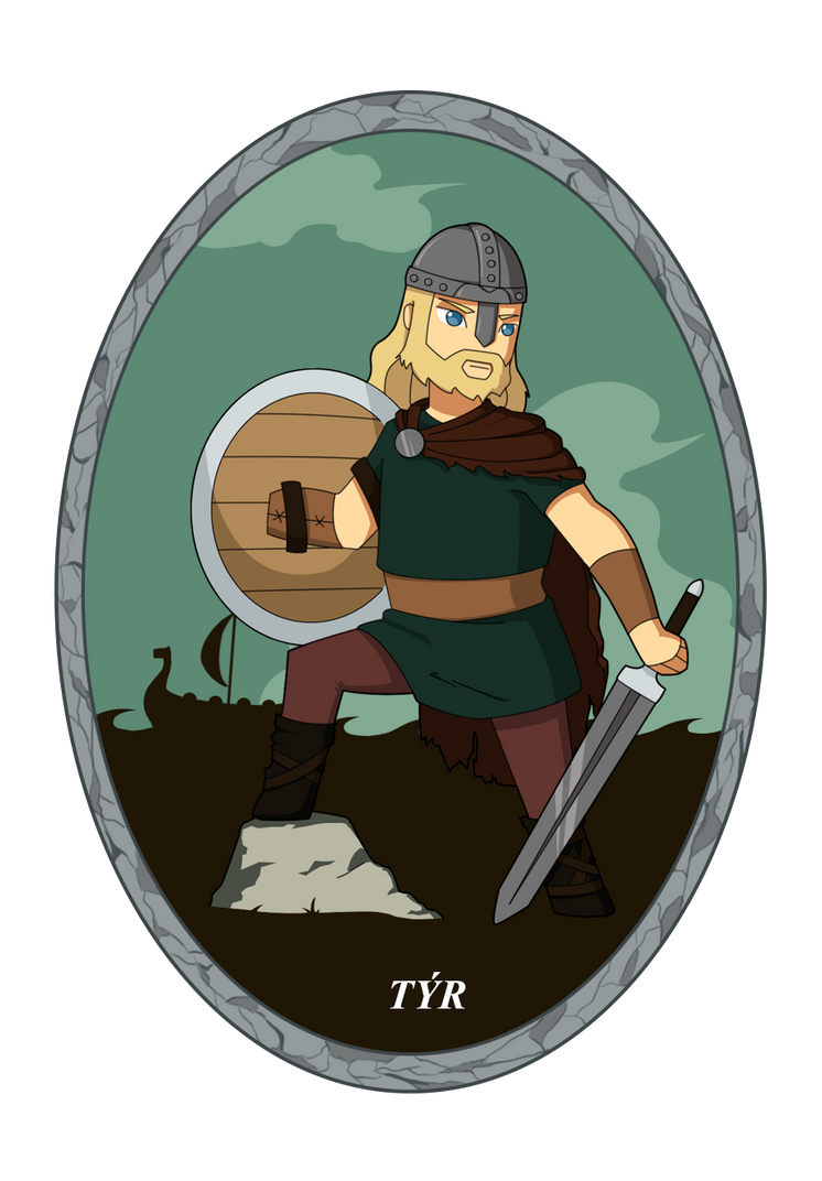Tyr - Nordic by crissygim