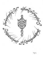 tengwar script by bogdanpo